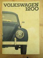 Volkswagen Kever 1200 Handleiding 1963 - Practical