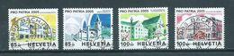 2005 Switzerland Complete Set Pro Patria Used/gebruikt/oblitere - Pro Patria