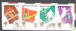 Korea, South 1986 Used Football, Soccer, Olympic Games - Seoul 1988, South Korea, Horse - Korea, South