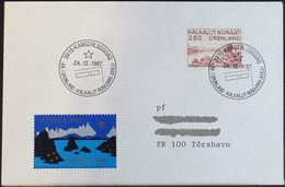 GRÖNLAND 1987 Stempelbeleg - Jul I Grønland - Brief - Brieven En Documenten