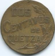 Guatemala - 2 Centavos - 1944 - KM252 - Guatemala