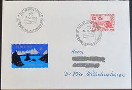 GRÖNLAND 1987 Stempelbeleg - Jul I Grønland - Brief - Groenland