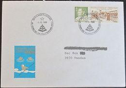 GRÖNLAND 1986 Stempelbeleg - Jul I Grønland - Brief - Groenland
