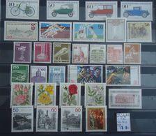Allemagne Berlin 1982 - Année Complète MNH Avec Séries Courantes - YT 620/649 - Lots & Kiloware (max. 999 Stück)