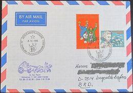 GRÖNLAND 1985 Stempelbeleg - Jul I Grønland - Brief - Groenland