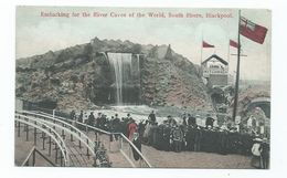 Lancashire Potcard Blackpool River Caves South Shore Used Not Posted South Shore Estates - Blackpool
