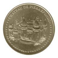 Monnaie De Paris , 2011 , Pierrefonds , Château , Face Simple - Monnaie De Paris