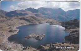 AND-129 TARJETA DE ANDORRA ESTANY DE L'ILLA  NUEVA-MINT CON BLISTER - Andorre