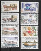 1965 - N° 410 à 417**MNH - Transports - Madagascar (1960-...)