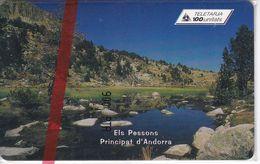 AND-109  TARJETA DE  ANDORRA DE ELS PESSONS  NUEVA-MINT - Andorre
