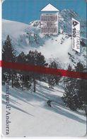 AND-087  TARJETA DE  ANDORRA DE TURISME DE NEU    NUEVA-MINT - Andorre