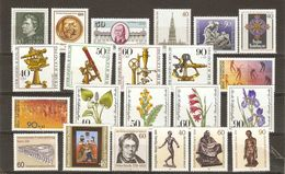 Allemagne Berlin 1981 - Année Complète MNH - YT 598/619 - Vrac (max 999 Timbres)