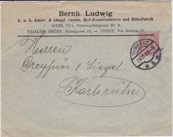 Österreich Austria Privatganzsache PU 10 H Möbel Tischler Wien 1906 - Interi Postali
