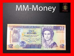 BELIZE 2 $   1.6.1991  P. 52 B  UNC- - Belize