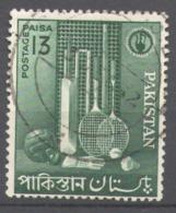 Pakistan 1962 Used Football, Soccer, Small Industries, Tennis - Pakistán