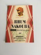 Etiquette RHUM NAKOUBA ( Martinique ) - Rhum