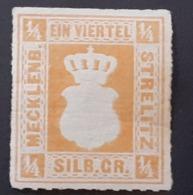 Allemagne > [2] Anciens Etats > Mecklenbourg-Strelitz  N°1* - Mecklenburg-Strelitz