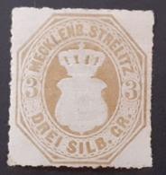 Allemagne > [2] Anciens Etats > Mecklenbourg-Strelitz  N°6* - Mecklenburg-Strelitz