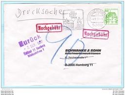 BUND BRD FRG GERMANY - Brief Cover Lettre Nachgebühr --- 5060 Bergisch Gladbach   (8866) - Brieven