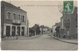 71 LE CREUSOT Les Quatre Chemins Et Route De Torcy - Le Creusot