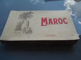 Carnet De 40 Cartes Postales Du Maroc - Oudjda-Taourirt-Taza-Fez-Rabat - Altri