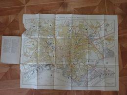 PLAN GUIDE PAUL RUAT MARSEILLE EN TRAMWAY 1920 LIBRAIRIE RUAT - Europe