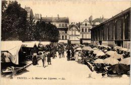 CPA Troyes- Le Marche Aux Legumes FRANCE (1007856) - Troyes