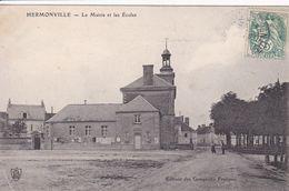 51 HERMONVILLE  La Mairie Et Les écoles - France
