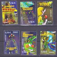 France 4378 4383  2009  La Fête Foraine  Neuf ** TB MNH Faciale 3.36 - Frankreich