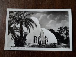L9/36 LYBIE ( LIBIA ) . Marabutto Nell'Oasi - Libya