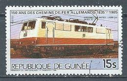 Guinée YT N°789 Locomotive BoBo 5500ch. Oblitéré ° - Guinea (1958-...)