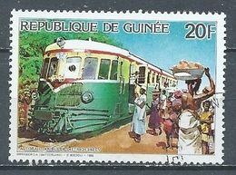 Guinée YT N°805 Autorail Double De Dietrich 640cv Oblitéré ° - Guinea (1958-...)