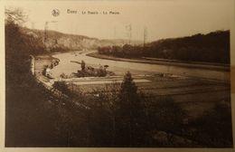 Beez (Namur) La Bassin - La Meuse 1939 Plakbandrest - Other