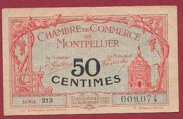 50 Cts  Chambre De Commerce De Montpellier Dans L 'état (23) - Chambre De Commerce