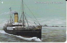 JER-239 TARJETA DE JERSEY DE UN BARCO STELLA  (72JERD)  SHIP - Bateaux