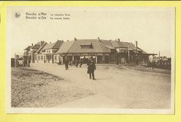* Knokke - Knocke (Kust - Littoral) * (Nels, Série 17, Nr 17) La Nouvelle Gare, Nieuw Station, Bahnhof, Animée, Unique - Knokke