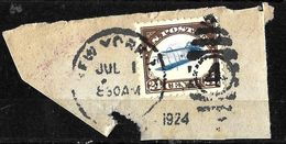 502 - USA - 1920 - INVERTED JENNY - CANCELLED - FORGERY - FAUX - FAKE - FALSE - FALSCH - Non Classificati