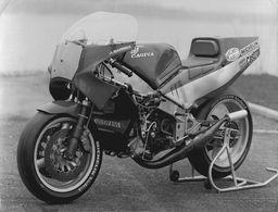 CAGIVA  +-17,5cm X 23,5cm Moto MOTOCROSS MOTORCYCLE Douglas J Jackson Archive Of Motorcycles - Fotos