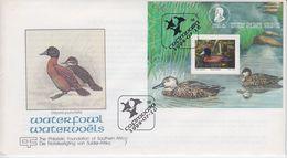 TRANSKEY, SOUTH AFRIKA 1992 Birds Ducks FDC - África Del Sur (1961-...)
