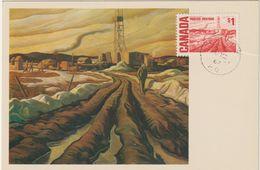 Carte Maximum CANADA N° Yvert 389 (L'IMPERIAL WILDCAT N°3 -Tableau De H.G.Glyde)  Obl 1967 - Maximumkaarten