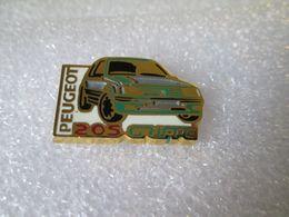PIN'S   PEUGEOT  205  GRIFFE  Helium  Zamak - Peugeot