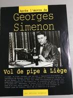 Georges Simenon : 9 Livres (collections Poche) - 1 Timbre Sur Enveloppe - 2 Revues & 1 Document - Livres, BD, Revues