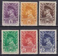 Cecoslovacchia, 1945/46 - Thomas G. Masaryk - Nr.262A-265 MLH* - Tchécoslovaquie