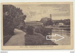 AK  Halle An Der Saale Saale Partie 1920 - Halle (Saale)