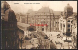 HAMBURG Hochbahn Am Rödingsmarkt 1920 - Mitte