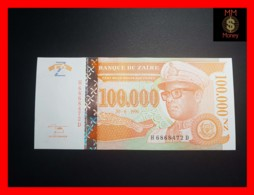 ZAIRE 100.000 100000 N. Zaires  30.6.1996  P. 77 Printer HDMZ  UNC - Zaire