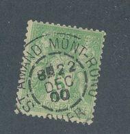 FRANCE - N° 102 OBLITERE CAD SAINT AMAND MONTROND DU 22 DECEMBRE 1900 - 1898-1900 Sage (Type III)