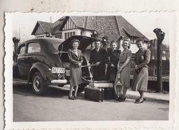 English Car - Engelse Oldtimer - Le Zoute - Pasen 1939 - Geanimeerd - Foto 6 X 9 Cm - Automobiles