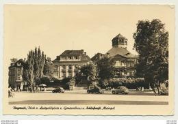AK  Bayreuth Blick Vom Luitpoldplatz Zum Gontardhaus Und Schloßcafé Metropol 1951 - Bayreuth