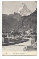 25412 - Zermatt Et Le Cervin - VS Valais